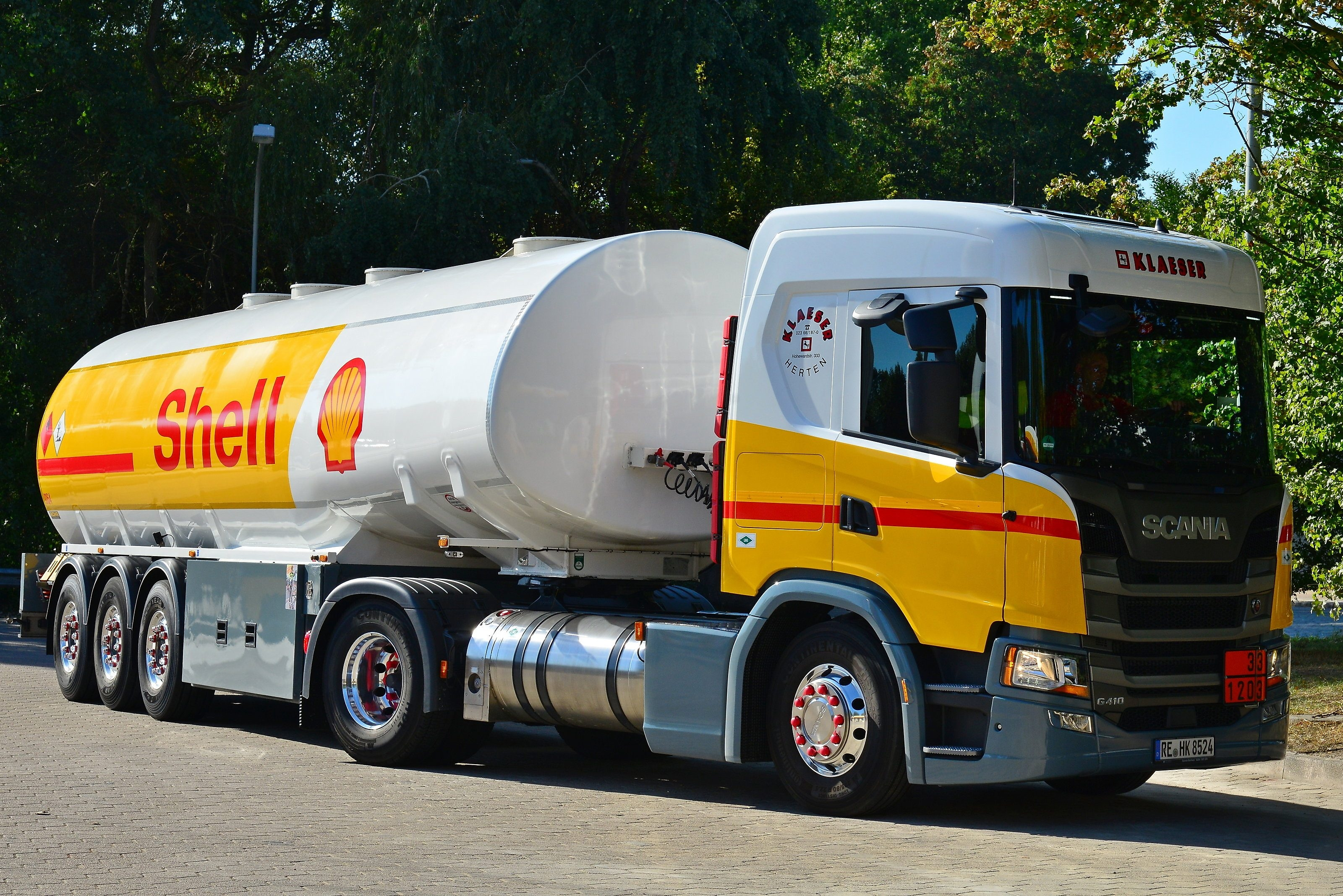 Shell LNG Fuel voor wegtransport