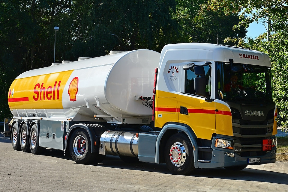 Shell Liquefied Natural Gas voor wegtransport