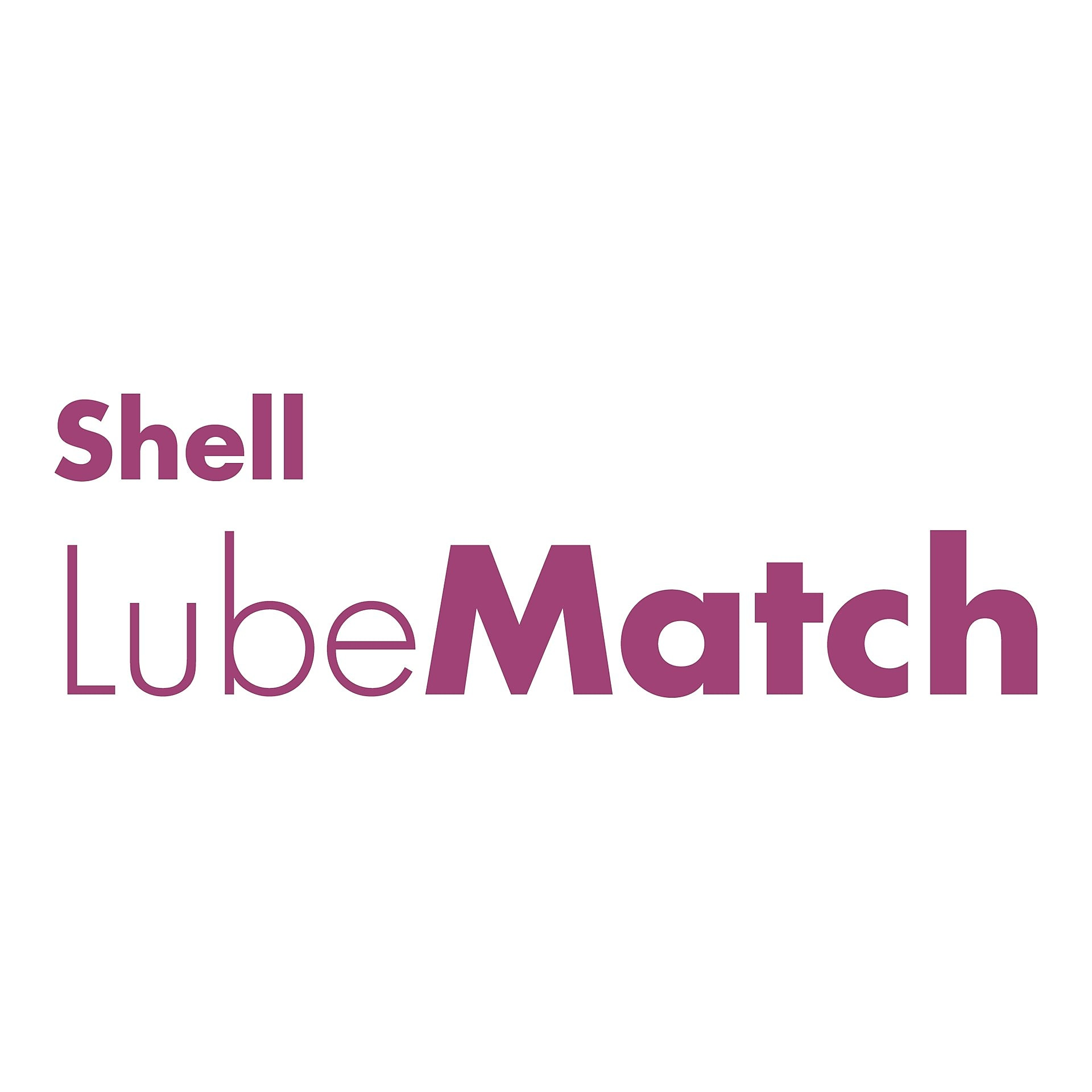 Logomarca na cor verde do Shell LubeMatch