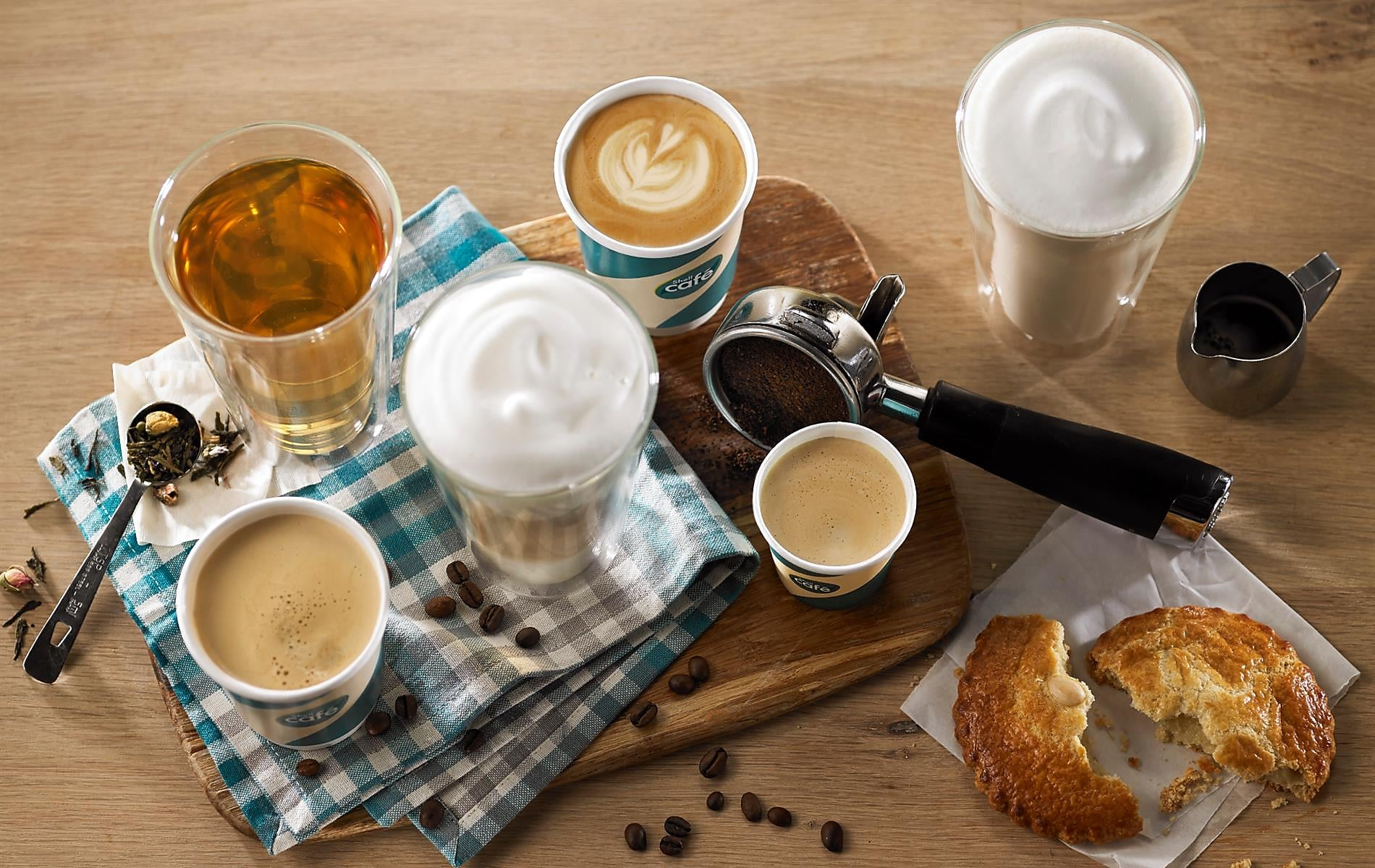 Voor Shell Energy klanten: koffie voor 1 euro