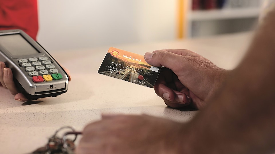 Meer informatie over de Shell Card